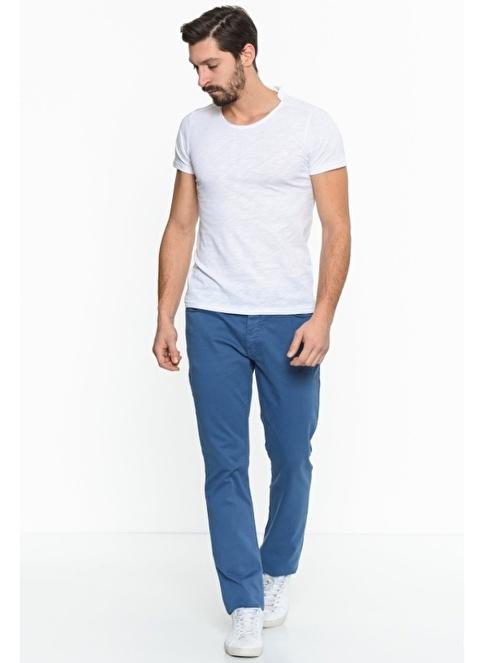 Comienzo Denim Pantolon Mavi